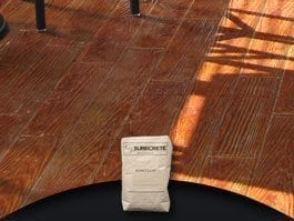 Stampable Concrete Overlay Product