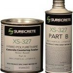 xs327 concrete countertop sealer