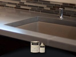 Countertop Paint Sealer : Concrete Countertop Sealers For Kitchens and Bathrooms