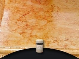 colored countertops veining powder