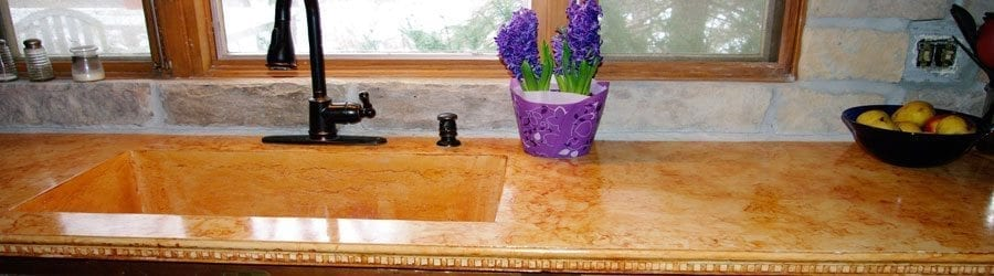 Concrete Veining Material for Concrete Countertops by SureCrete