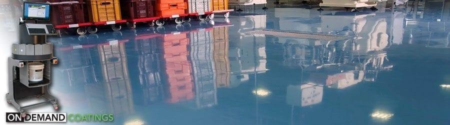 Colored concrete floor epoxy 100 solids floor coating for 100 solid epoxy garage floor