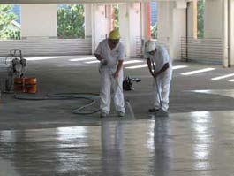 Concrete Cleaning and Moisture