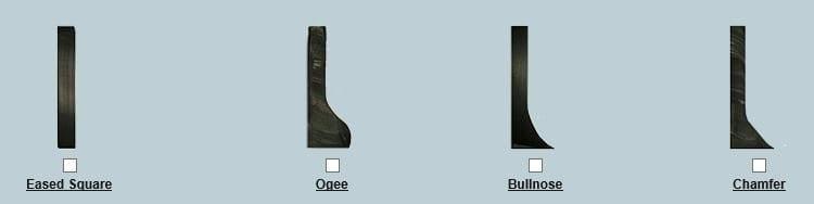 Surecrete Edge Profiles for Casting Countertops