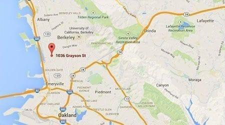 Berkeley California Surecrete Location