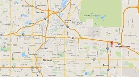 Aurora Colorado Surecrete Location