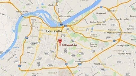 Louisville Kentucky Surecrete Location