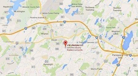 Ledgewood New Jersey Surecrete Location