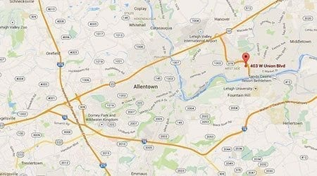 Bethlehem Pennsylvania Surecrete Distributor Location