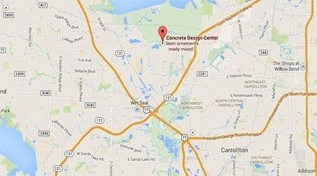 Lewisville Texas Surecrete Distributor Location