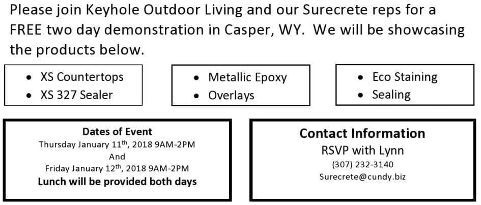 SureCrete Training Casper WY