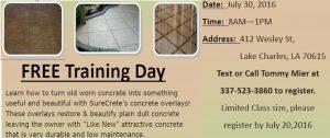 la-concrete-training-class