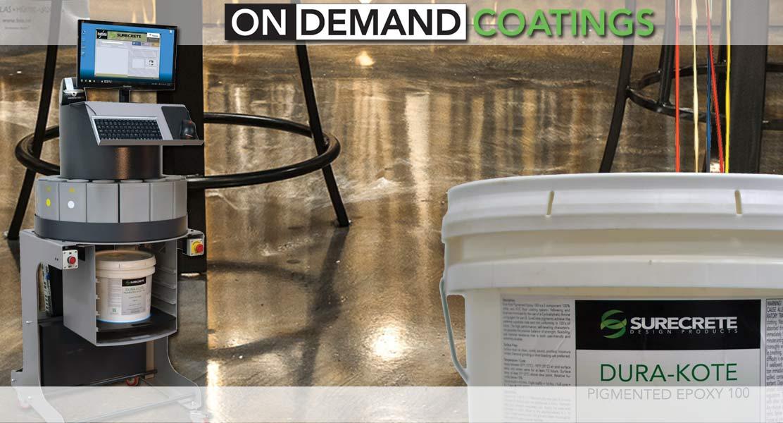 Surecrete Sealers and Coatings Tint Machine