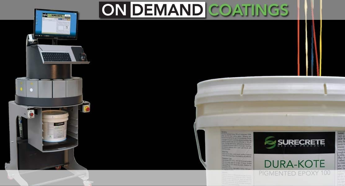 Surecrete On Demand Tint Machine for Epoxy