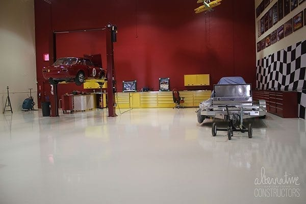1 solid epoxy garage floor coating