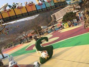 amusement park colored concrete sealer