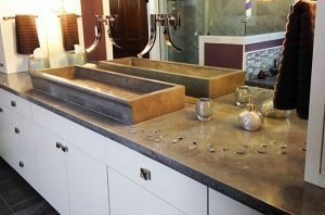 bathroom waterfall faucet basin farm sink