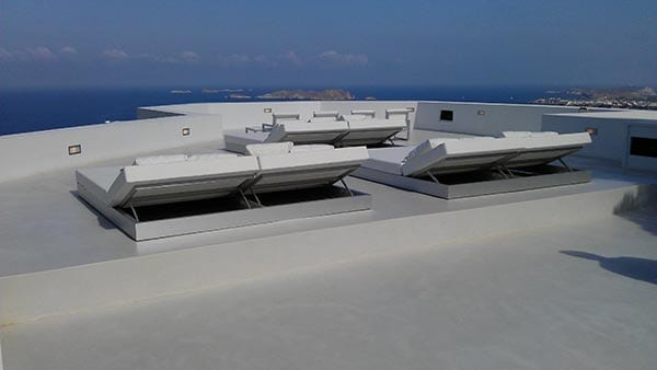 commercial roof top patio modern design