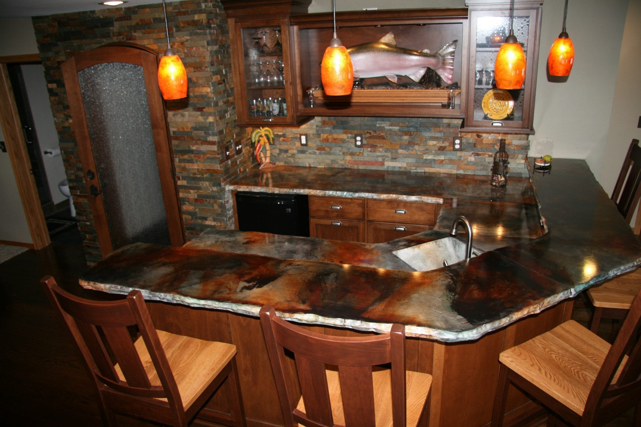 how to clean granite countertops oil stain