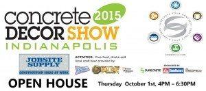 Concrete Decor Show JobSite Supply Open House