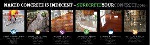 Surecrete Your Concrete - Surecrete Design Products