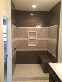 Concrete Terrazzo Shower Tiles
