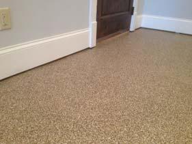 Residential Flake Floor