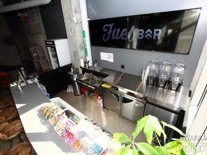 Concrete Juice Bar Counter Top