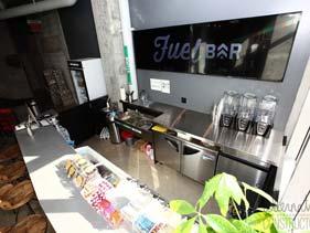 Concrete Juice Bar Counter Top