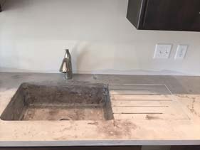 Concrete Counter Top Stone Look