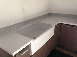 Pure White GFRC Farm Sink