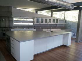 Thin Gray Concrete Counter Top
