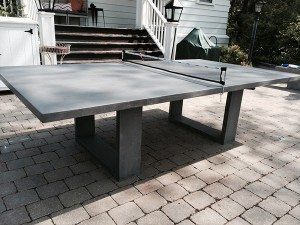 Grey Concrete Ping Pong Table