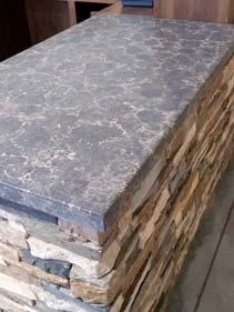 Concrete Grey Counter Top