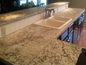 Kitchen Concrete Bar Top