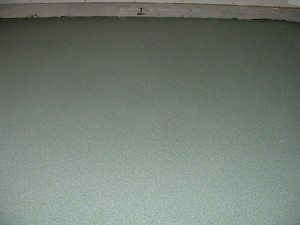 Grey Epoxy Flake Residential Garage Floor
