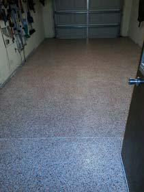 Epoxy Flake Garage Floor