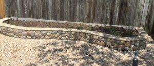 Field Stone Raised Garden Bed