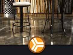 floor epoxy flakes and metallics