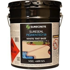 Low VOC Colored Concrete Sealer - SureSeal