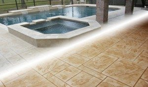 Re-Seal Stamped Concrete