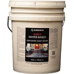 Water Based Clear Concrete Sealer