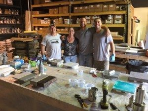 Decorative Concrete Surecrete Training Class Orlando Florida