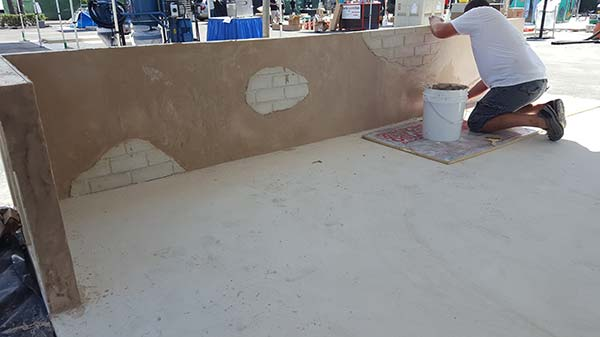 6 Staining Concrete Wall At Decor Show 2016