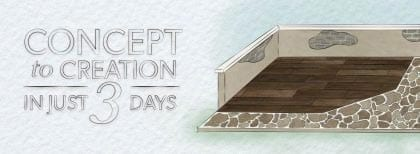 How to Create a Concrete Outdoor Living Space in 3 Days by SureCrete