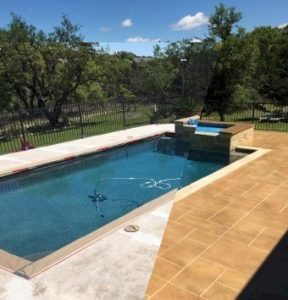 austin pool deck before after