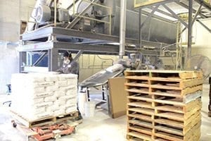 Concrete Countertop Bag Mix Production