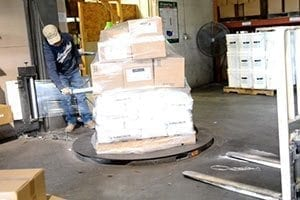 pallet wrapping surecrete