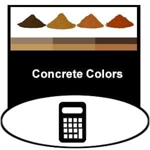 concrete integral color additive calculator