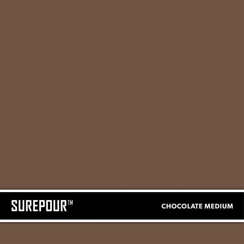 Medium Chocolate Brown New Concrete Ready-Mix Truck Color SKU: 35103008-07 UPC: 842467100691 (Requires 1 Bag / 1 Yard)